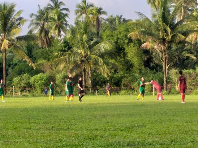 Laga Perdana Sepakbola Porprov: Padangpariaman Ditahan Imbang 50 Kota