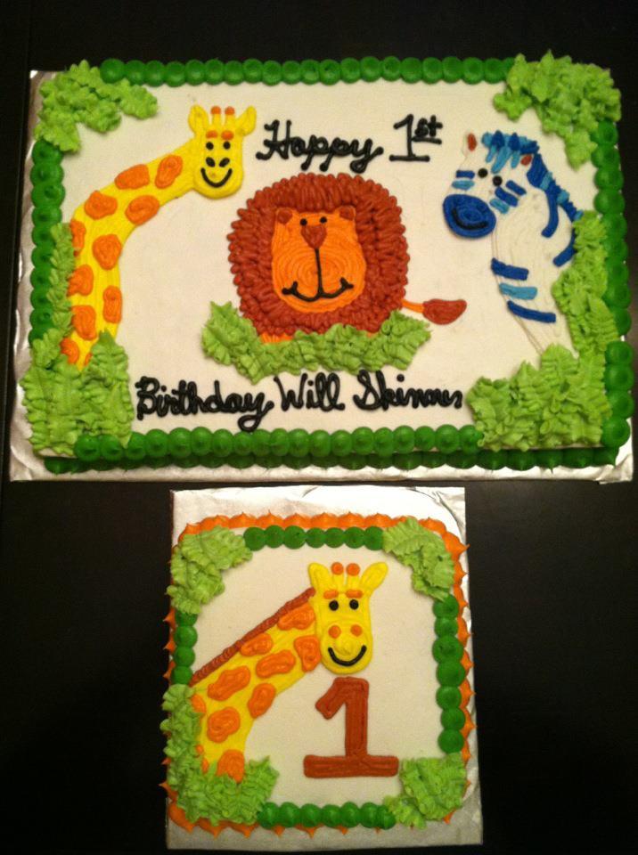 Sweet Treats By Susan Jungle Theme 1st Birthday