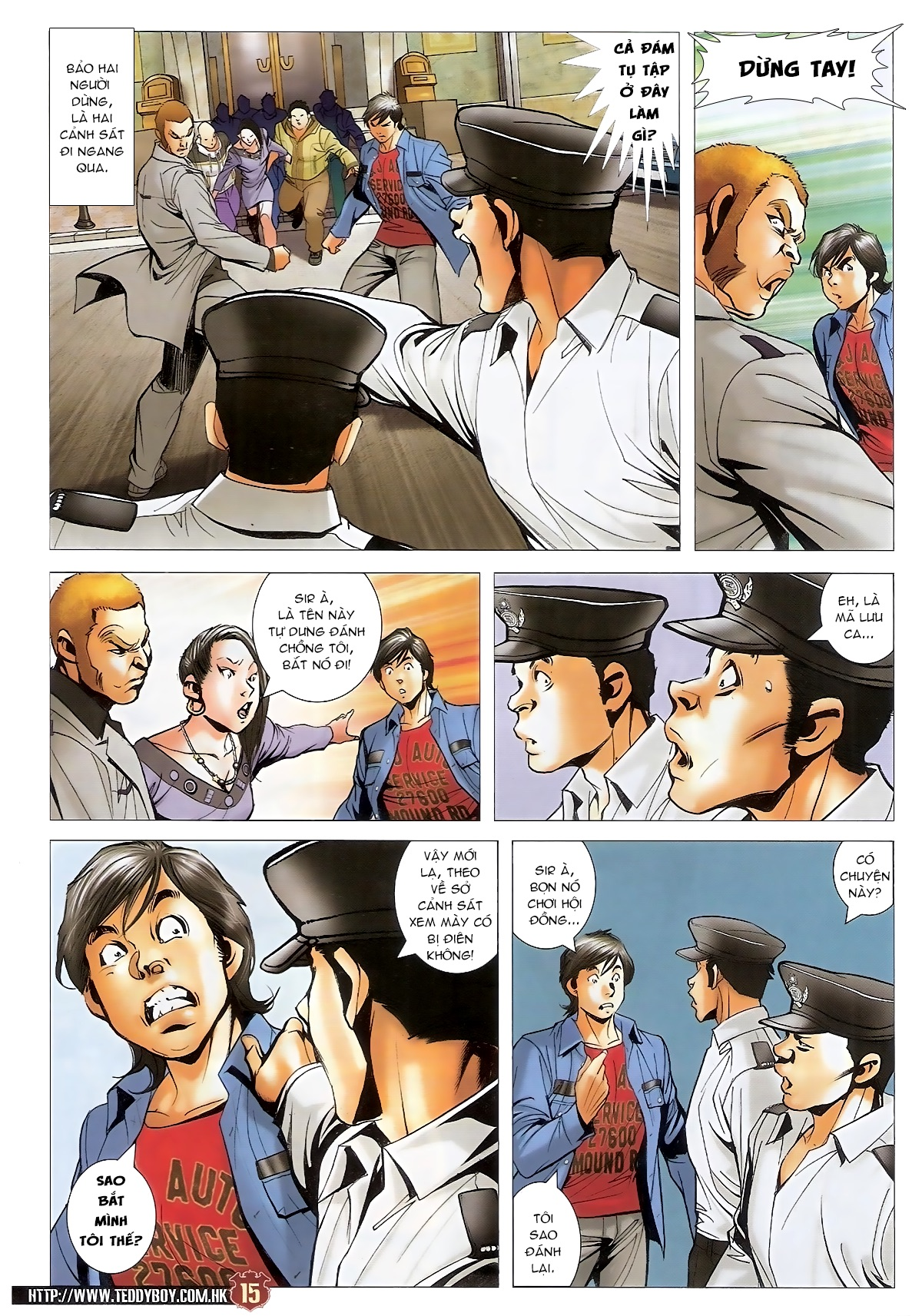Người Trong Giang Hồ - Chapter 1567: Chơi bẩn - Pic 14