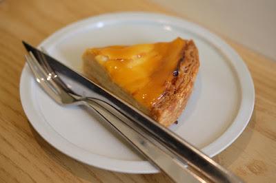 東京・代々木八幡のケーキ、カフェ Afterhours りんごのタルト