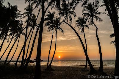 Linthar bay - Sunset - Ngapali - Myanmar