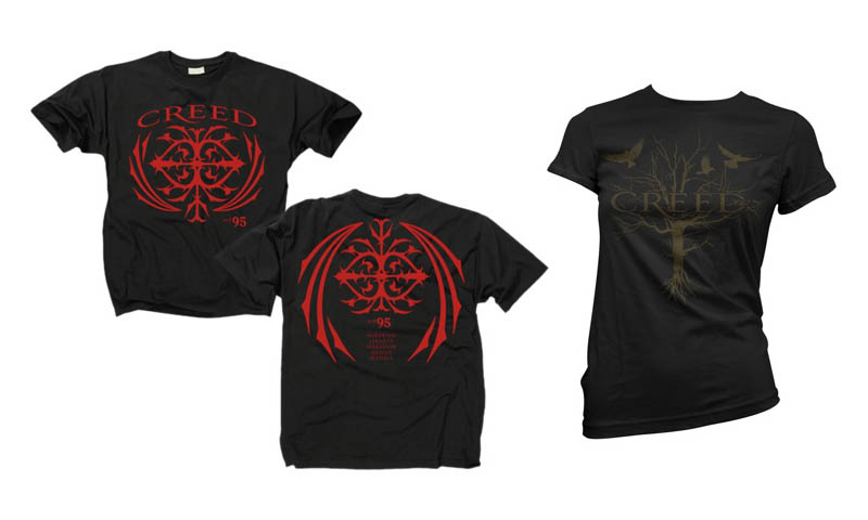 creed merchandise available this november manila concert scene. Black Bedroom Furniture Sets. Home Design Ideas