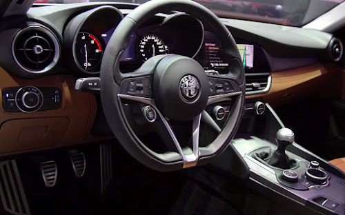 Inside the Alfa Romeo Giulia