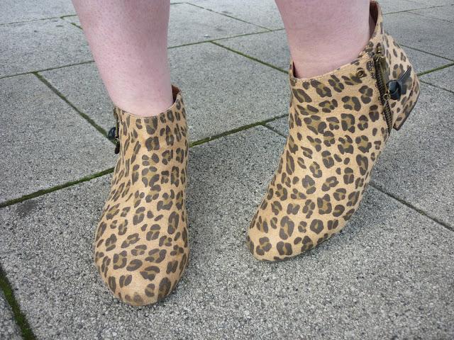 Leopard Print Chelsea Boots | Petite Silver Vixen