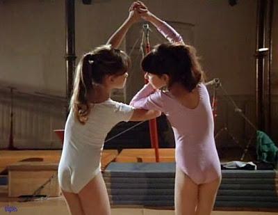 Nadia et Teodora dans le biopic de Nadia Comaneci sorti en 1984