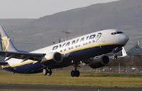 Ryanair cancela su ruta a Madrid
