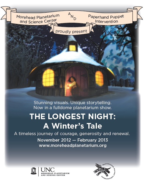 The Longest Night: Paperhand Puppet Show at Morehead