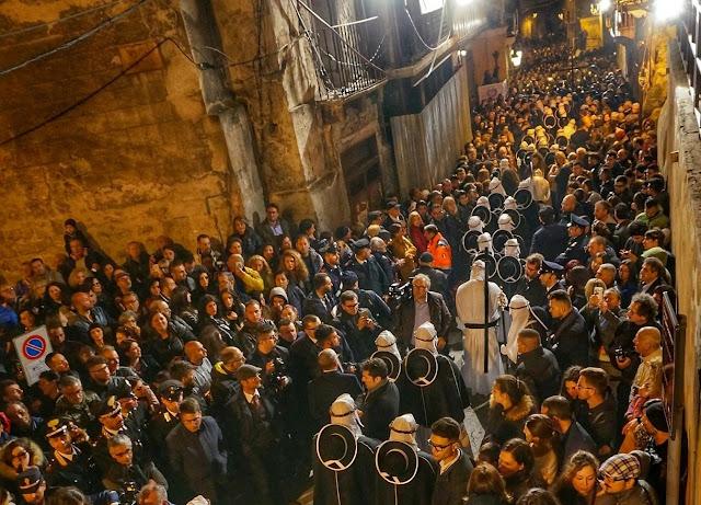 i riti della settimana santa a Taranto