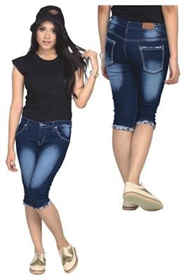 Celana Jeans Wanita Pendek