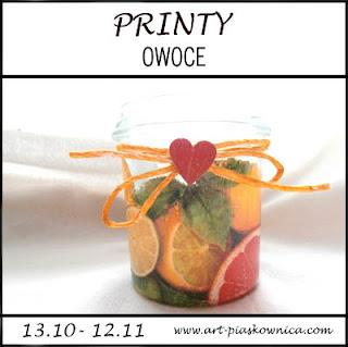 """PRINTY """"owoce"""" - edycja sponsorowana"""