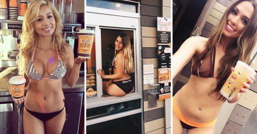 "Meseras barístas en bikini en nombre del ""empoderamiento"""