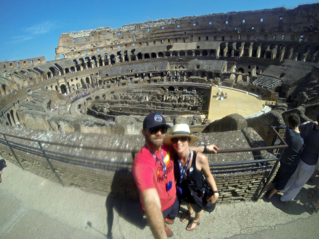 things to do in Rome; colosseum