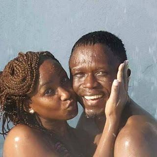 Ababu Namwamba with his wife Prisca Namwamba in her birthday. PHOTO | Courtesy