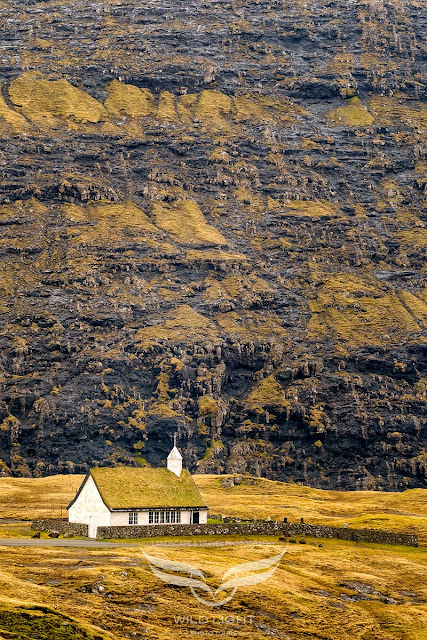 Saksun Church in the Faroe Islands