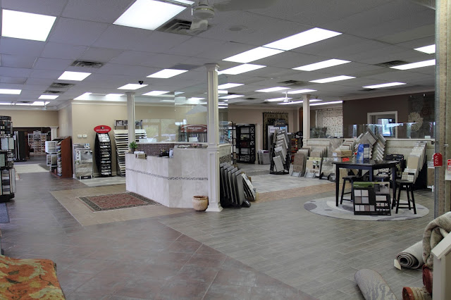 Kermans' large, spacious Indianapolis flooring store
