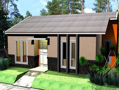 Bentuk Rumah Sederhana di desa