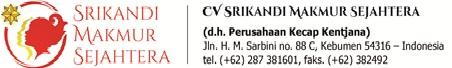 Lowongan Kerja di CV Srikandi Makmur Sejahtera, Januari 2018