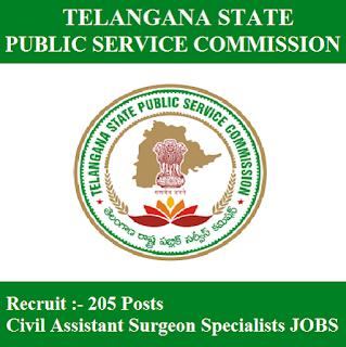 Telangana State Public Service Commission, TSPSC, PSC, Telangana, Assistant Surgeon, Post Graduation, freejobalert, Sarkari Naukri, Latest Jobs, tspsc logo
