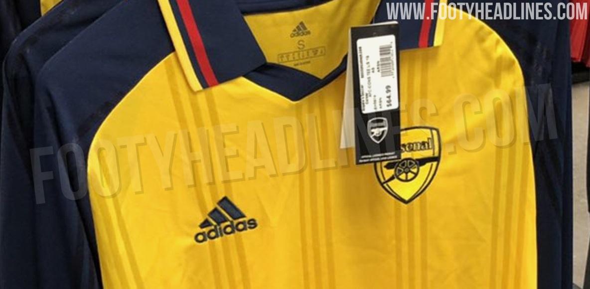 59dcdbe1d Adidas Arsenal 19-20 Icon Retro Jersey Leaked - Footy Headlines
