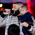 DJ Khaled pictured with his son at iHeartRadio Music Award