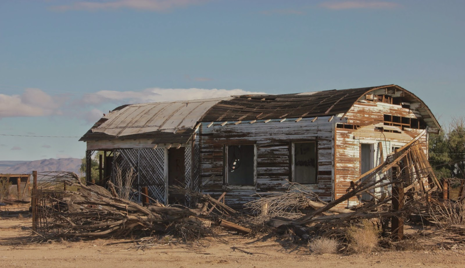 Old Building at Kelso, Mojave