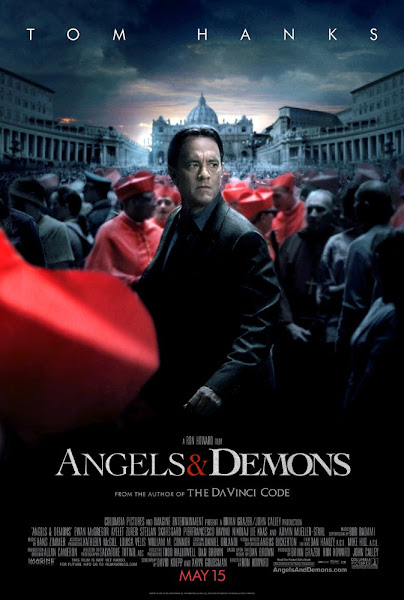 Poster of Angels And Demons 2009 EXTENDED 720p Hindi BRRip Dual Audio