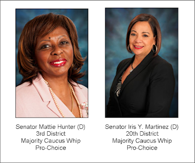 Vision 2020 - week 34 - Senator Mattie Hunter (D) and Senator Iris Y. Martinez (D)