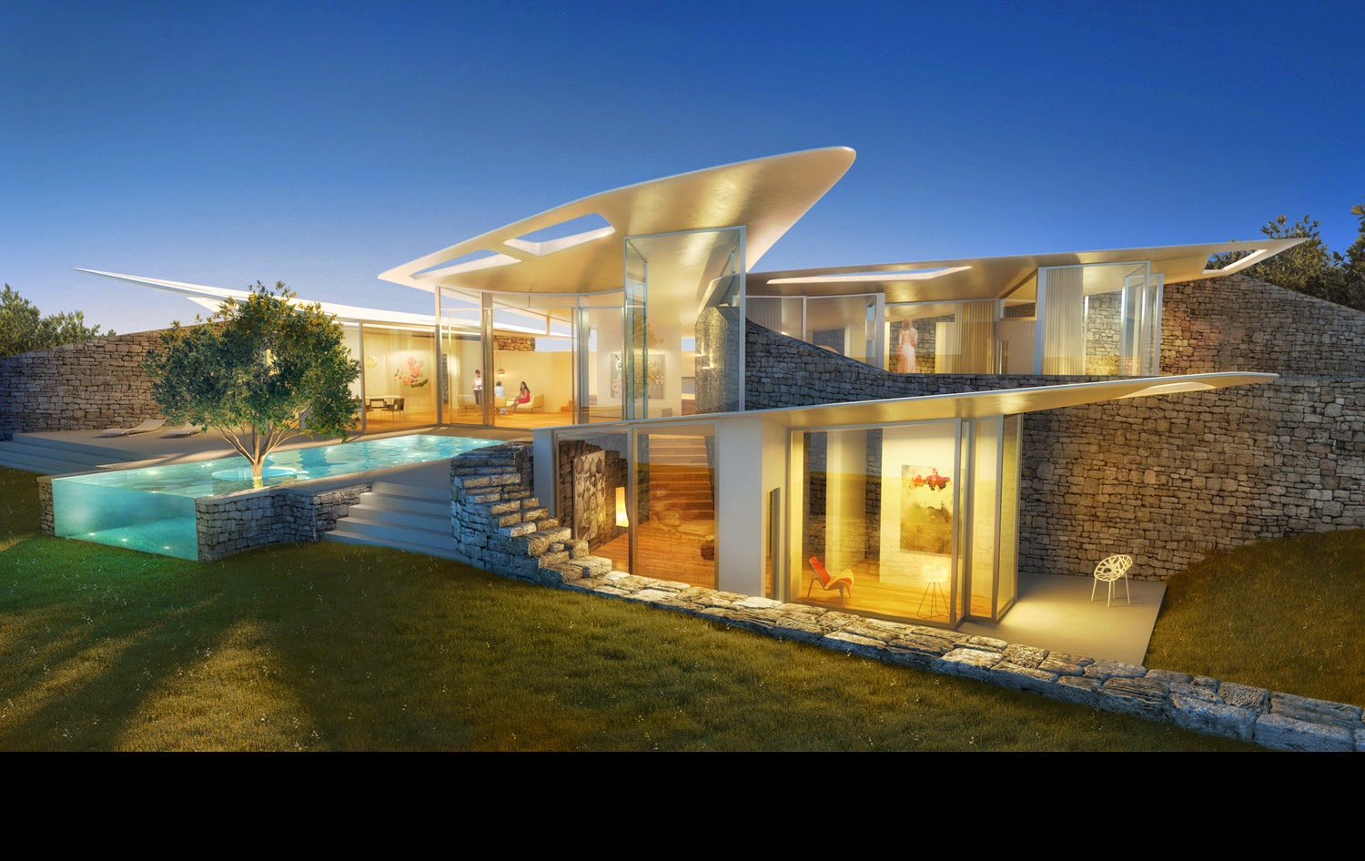 How is organic architecture and or