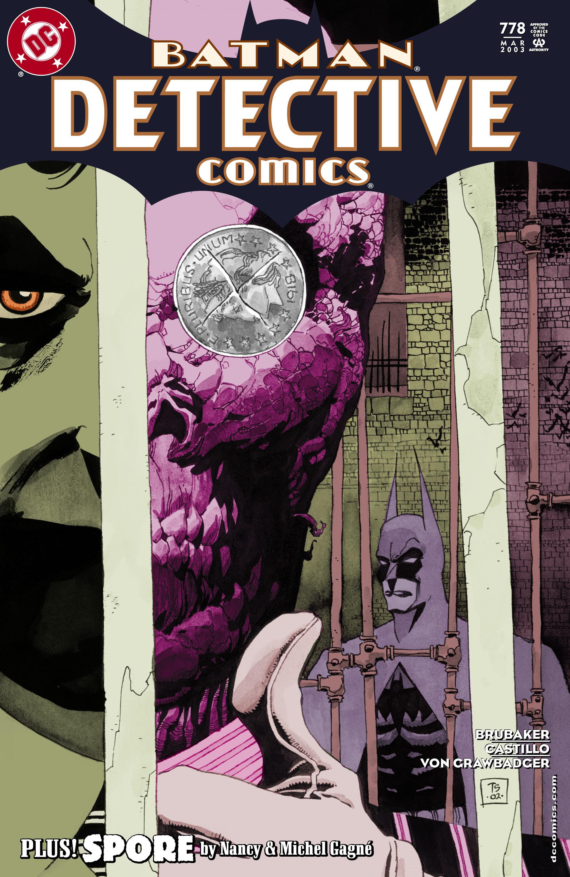 Detective Comics (1937) 778 Page 0