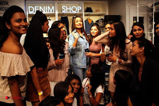 Actress Sonakshi Sinha Pos in Denim Jeans at Forever 21 Shop Launch at Express Avenue Mall  0015.jpg