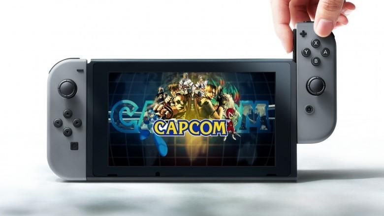Capcom está preparando versões de vários jogos para o Nintendo Switch