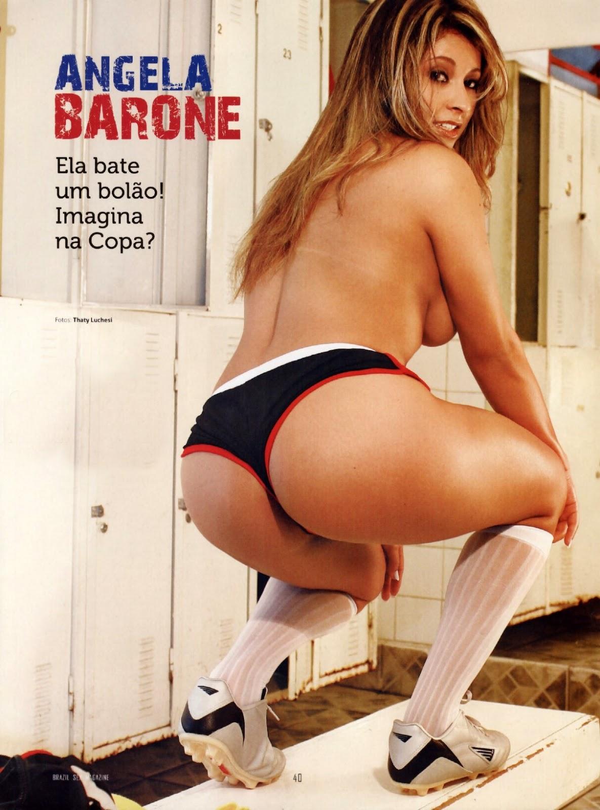 Angela Pelada revista brazil - karolayne martins - famosas brasil