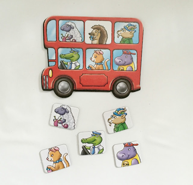 Orchard Toys Little Bus Lotto Travel Game