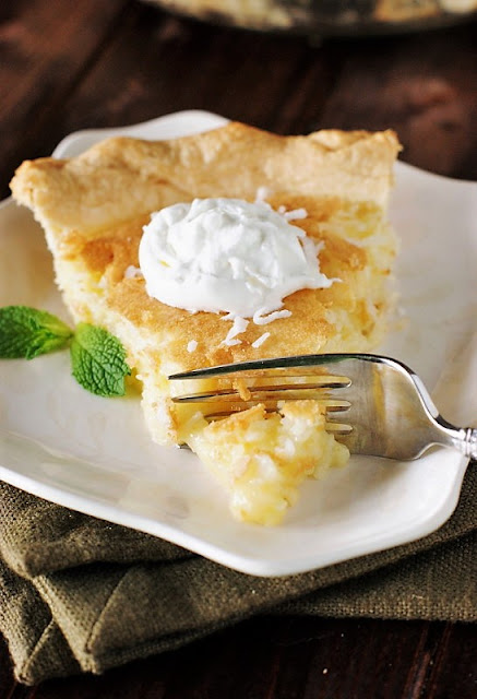Slice of Grandma's Coconut Pie Image