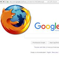 Cara Ubah Halaman Awal Mozilla Firefox ke Pencarian Google