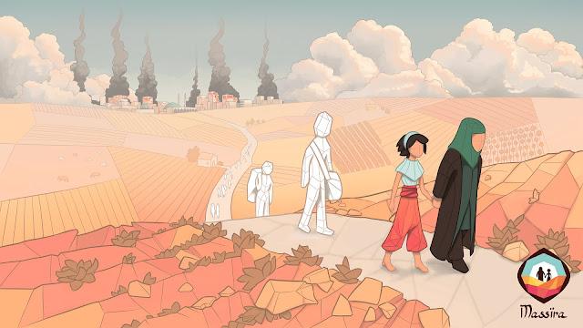 Massira, el juego que refleja el drama de los refugiados de Siria, ya tiene fecha de lanzamiento