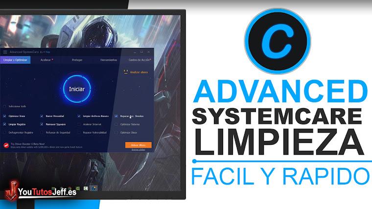 Como Descargar Advanced SystemCare 11 Ultima Versión Gratis Español