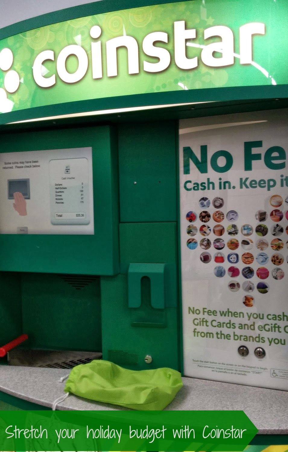 Turn Your Extra Change into Holiday Cash at Coinstar