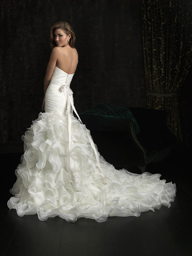 Wedding Dresses with Ruffles at the Bottom – Fashion dresses