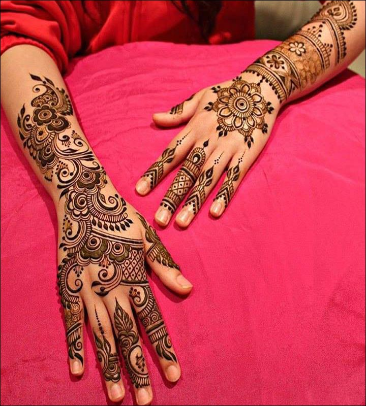 Arabic Henna Designs: New Latest Arabic Mehndi Designs HD (Mehndi Design Arabic