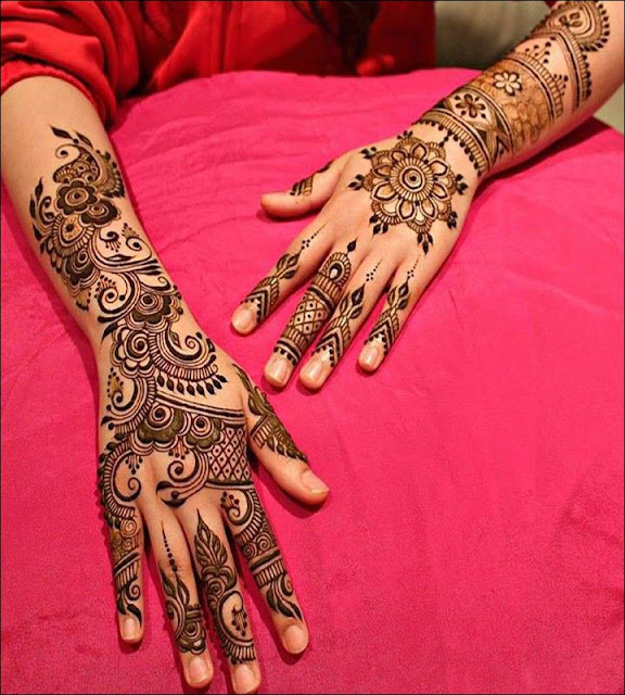 Arabic Mehndi Designs Simple Way