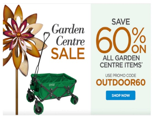The Shopping Channel Garden Centre Sale 60% Off Promo Code