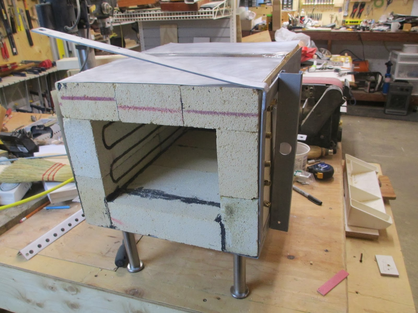 Diy Knifemaker S Info Center Heat Treatment Oven Project