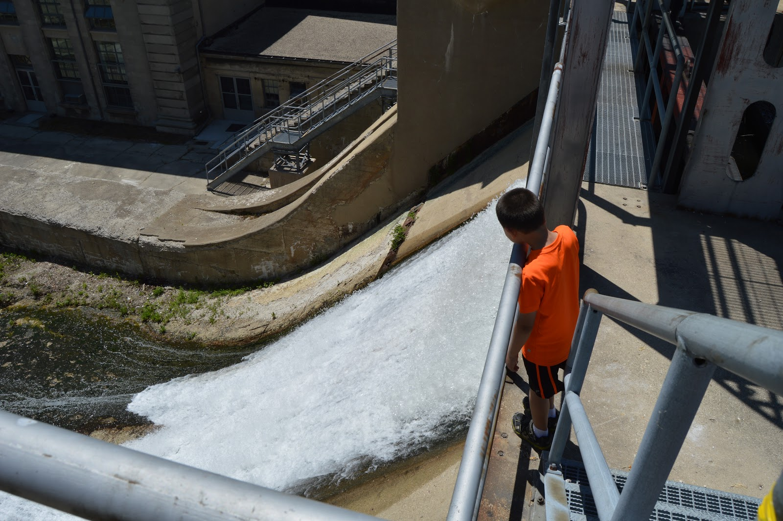 industrial history ogee crest spillways