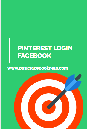 Pinterest Log In With Facebook