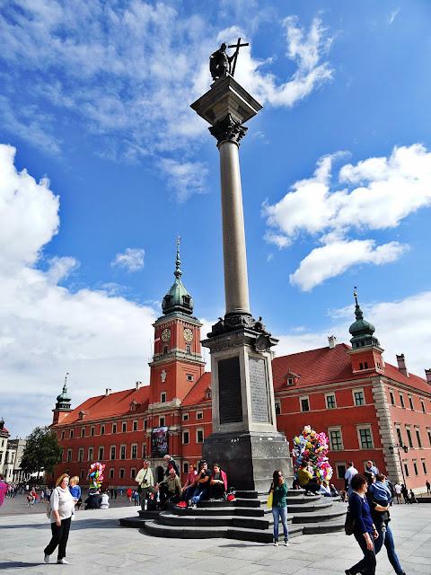 kolumna Zygmunta centrum Warszawy