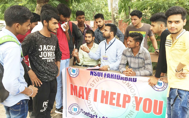 Always ready for students, NSUI: Krishna Atri