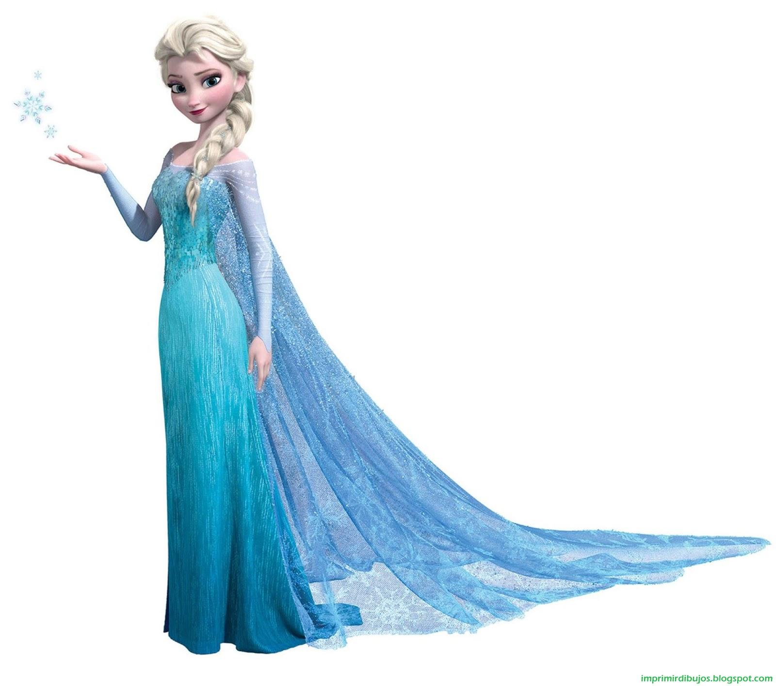 Imprimir Dibujos Personajes de Frozen  El Reino del Hielo para
