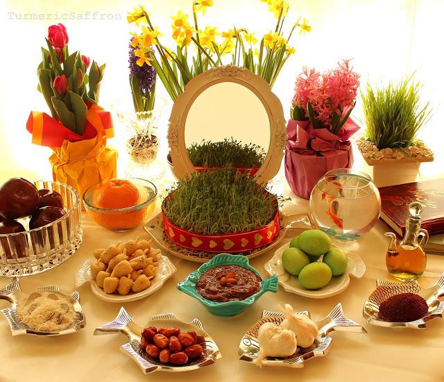 Turmeric & Saffron: Haft Seen Photos - Eid-e Nowruz! Persian Haft Seen