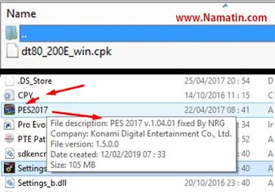fix pes 2017 error setelah update